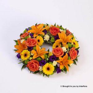 Churchview Flowers - Large Wreath