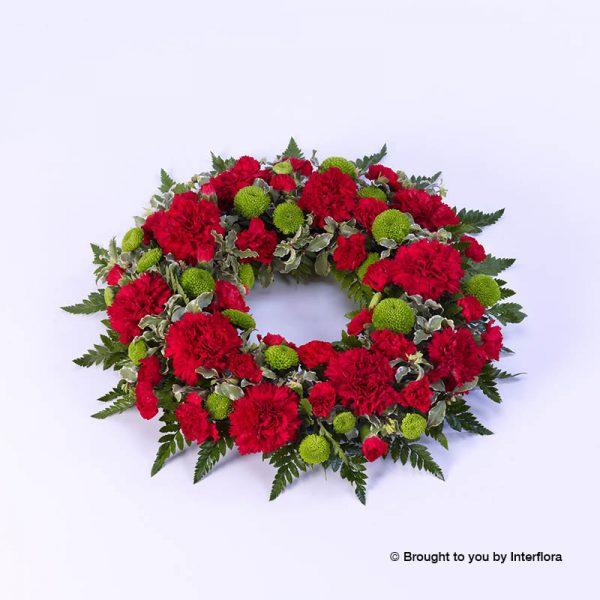 Churchview Flowers - Standard Wreath