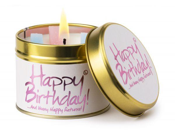 Happy Birthday Candle Tin 1