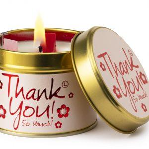Thank You Candle Tin 1